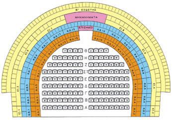 Διάγραμμα Θεάτρου Απόλλων